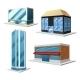 Building Decorative Set - GraphicRiver Item for Sale