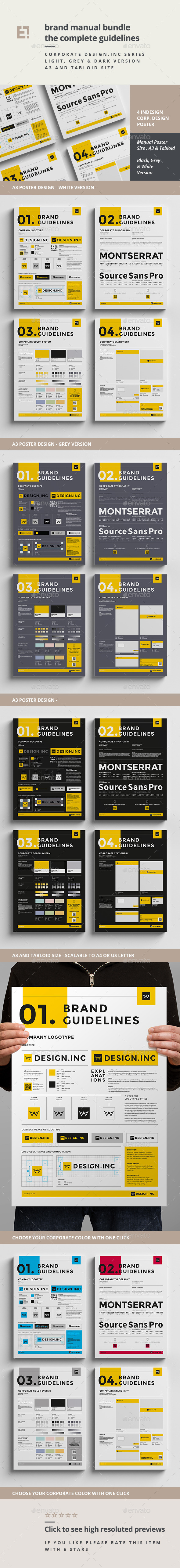 GraphicRiver Brand Manual Bundle 11285514