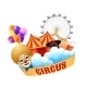 Colorful Circus Concept - GraphicRiver Item for Sale