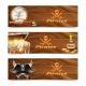 Three Horizontal Pirate Banners - GraphicRiver Item for Sale