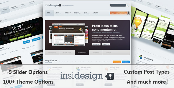 Insidesign WP Theme