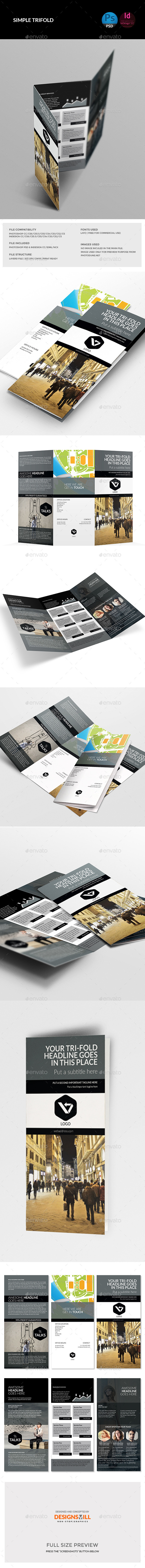 GraphicRiver Tri-Fold Brochure 11263526