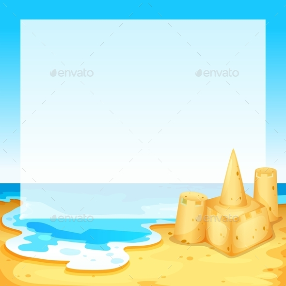 GraphicRiver View of the Beach 11285880