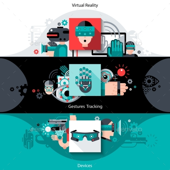 GraphicRiver Virtual Augmented Reality Banners 11285950