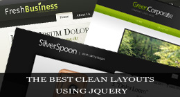 The Best Clean Layouts Using jQuery