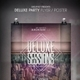 Deluxe Party Flyer / Poster - GraphicRiver Item for Sale