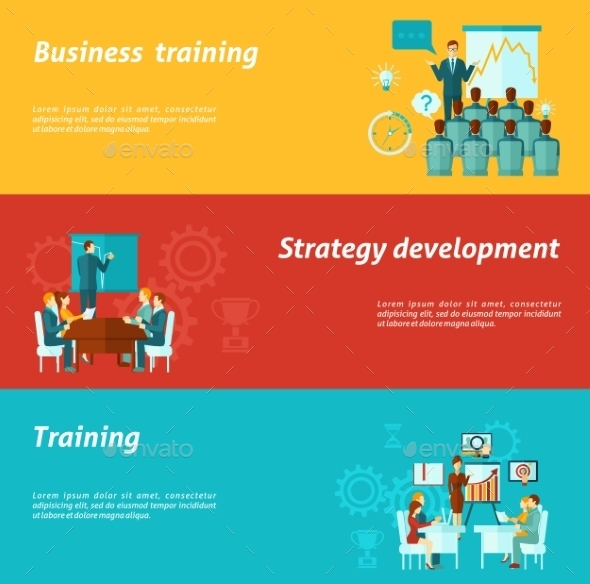GraphicRiver Business Training Banners 11286095