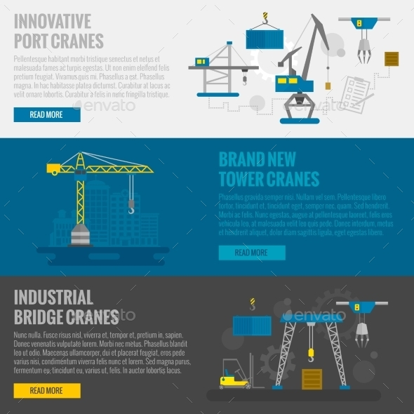 GraphicRiver Lifting Equipment Banner 11286106