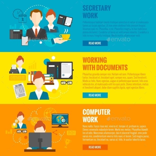 GraphicRiver Personal Assistant Banner 11286112