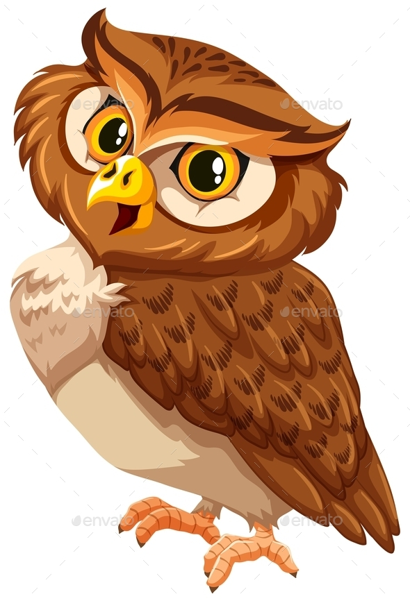 GraphicRiver Brown Owl 11286113