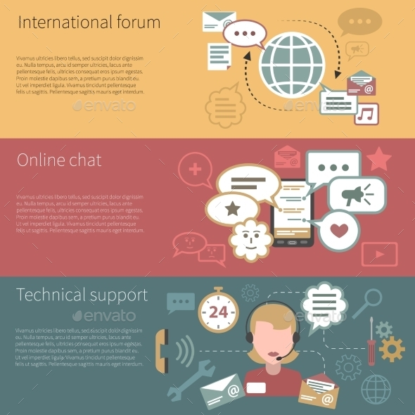 GraphicRiver Chat Banner Horizontal 11286147