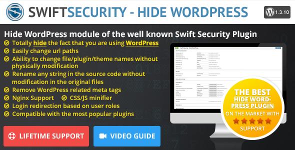 CodeCanyon Swift Security Hide WordPress 11286482
