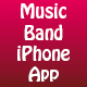 Music Band iOS App Swift-Template + PHP-Backend