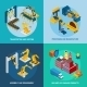 Isometric Robot Machinery - GraphicRiver Item for Sale