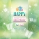 Abstract Background With Gifts Birthday. - GraphicRiver Item for Sale