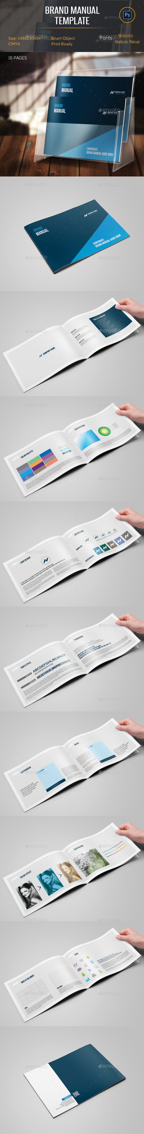 GraphicRiver Brand Manual Template 11287307