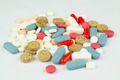 Assorted Medicinal Drugs on White 1 - PhotoDune Item for Sale