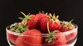 Strawberries on Black 01 - PhotoDune Item for Sale