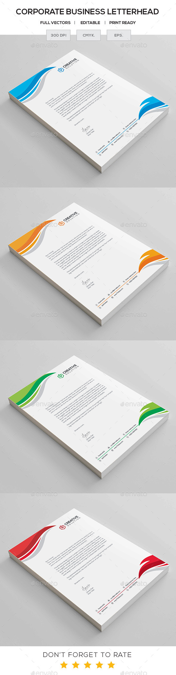 GraphicRiver Corporate Letterhead 11287975