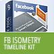 Facebook Timeline Kit - Isometry - GraphicRiver Item for Sale