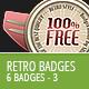 Retro Vintage Badges - Part 3 - GraphicRiver Item for Sale