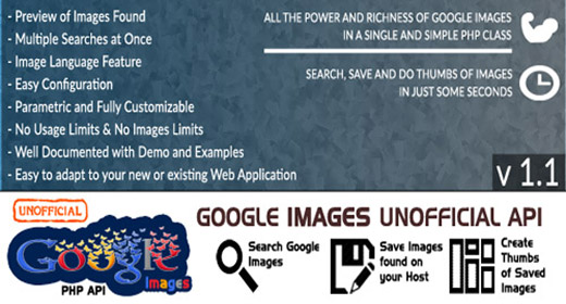 Google Images * UNOFFICIAL * API