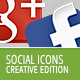53 Creative Social Media Icons - GraphicRiver Item for Sale