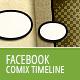 Facebook Comic Book Timeline - GraphicRiver Item for Sale
