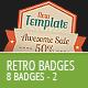 Retro Vintage Badges - Part 2 - GraphicRiver Item for Sale