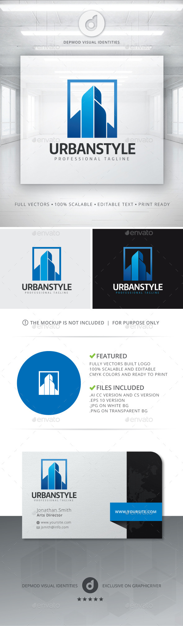 GraphicRiver Urban Style Logo 11288500