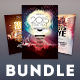 New Year Flyer Bundle Vol.02 - GraphicRiver Item for Sale