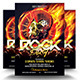 Rock Party Flyer Template - GraphicRiver Item for Sale