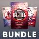 Valentine Flyer Bundle Vol.02 - GraphicRiver Item for Sale