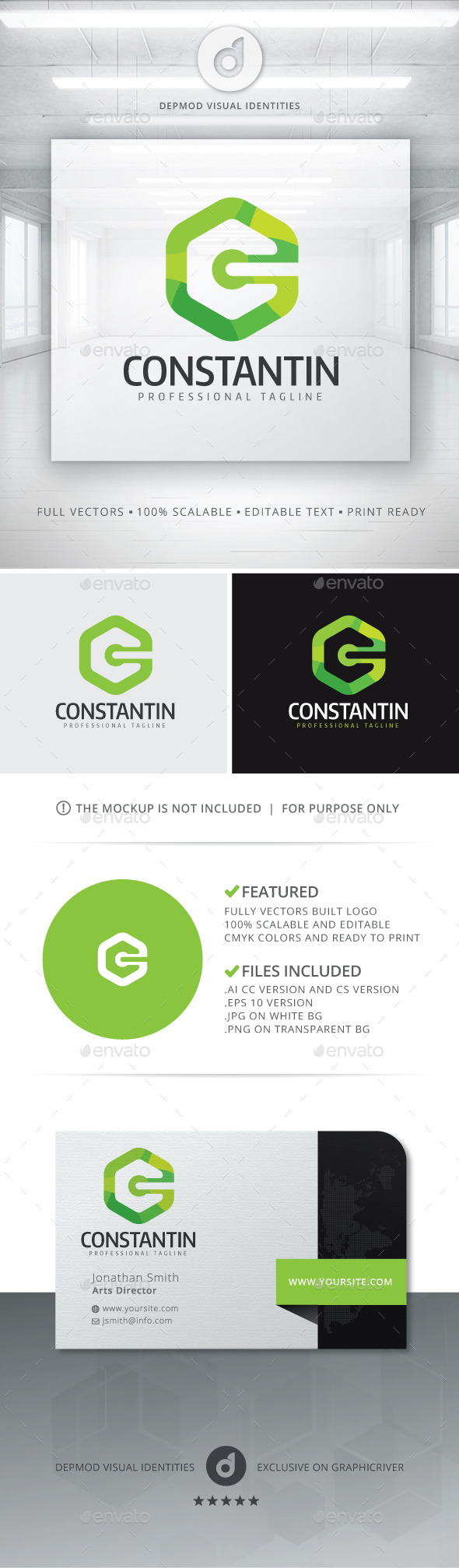 GraphicRiver Constantin Logo 11289796