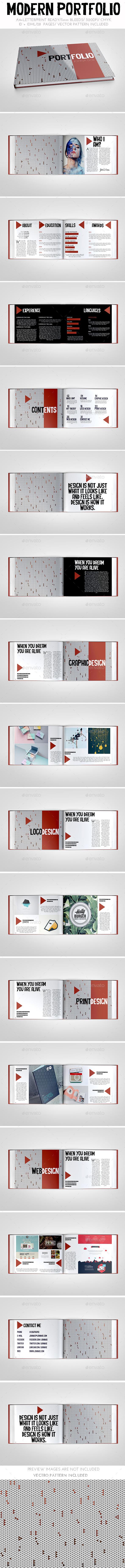 GraphicRiver Modern Portfolio Brochure 11290170