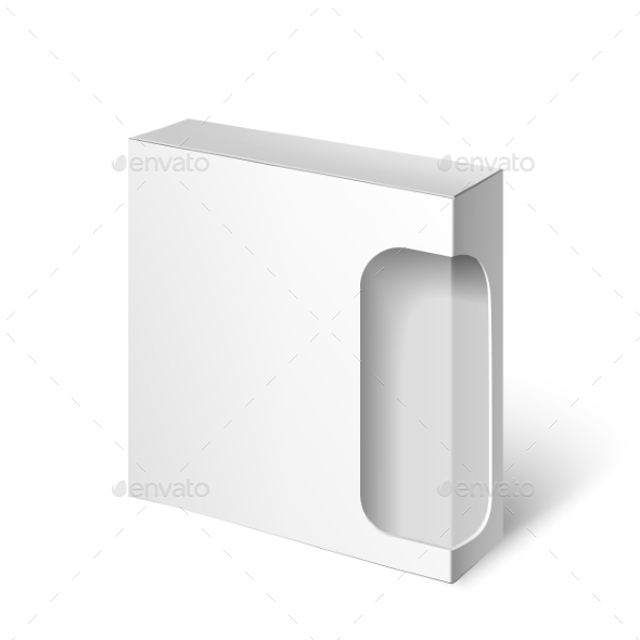 GraphicRiver White Package Box 11290203