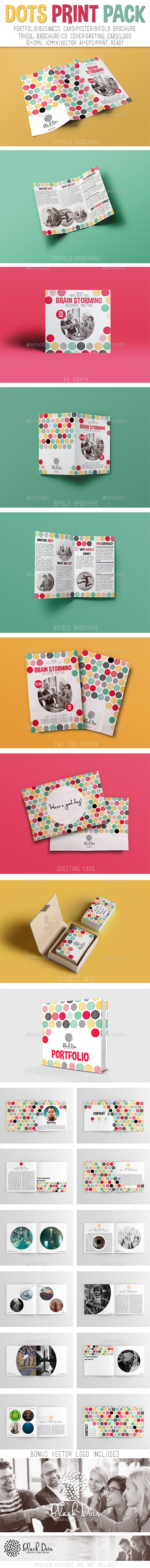 GraphicRiver Dots Print Pack 11290272
