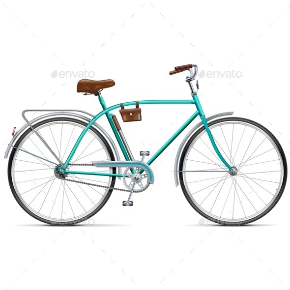 GraphicRiver Bicycle with Rounded Frame 11290785