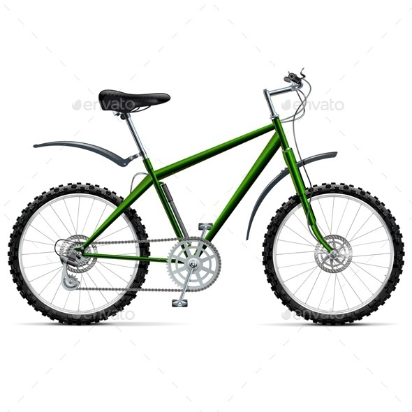 GraphicRiver Mountain Bicycle 11290799