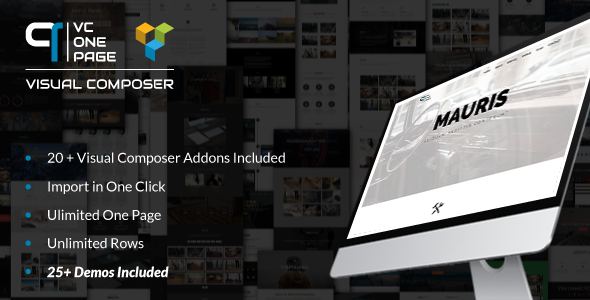 VC One Page Builder – Addons for Visual Composer