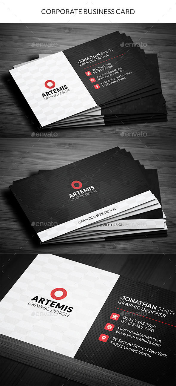 GraphicRiver Corporate Business Card 11290835