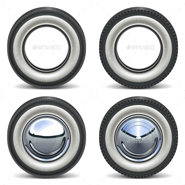 GraphicRiver Retro Wheels 11291115