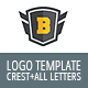Crest With 36 Letters And Numbers Logo Template - GraphicRiver Item for Sale