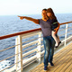 mother and daughter on a cruise indicates something interesting - PhotoDune Item for Sale