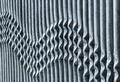 Wavy Metal Barrier - PhotoDune Item for Sale