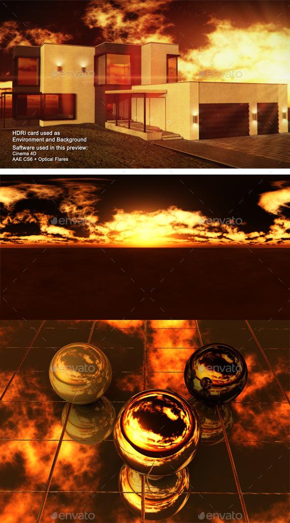 3DOcean Sunset Desert 16 11292142