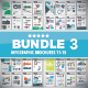 Infographic Brochure Elements Bundle 3 - GraphicRiver Item for Sale