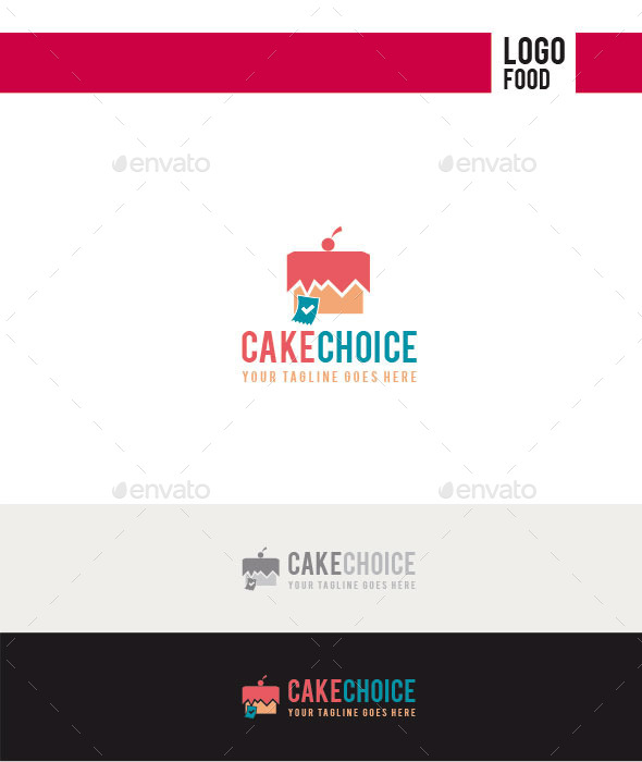 GraphicRiver Cake Choice Logo 11252871
