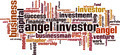 Angel Investor Word Cloud Concept - PhotoDune Item for Sale