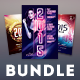 New Year Flyer Bundle Vol.03 - GraphicRiver Item for Sale